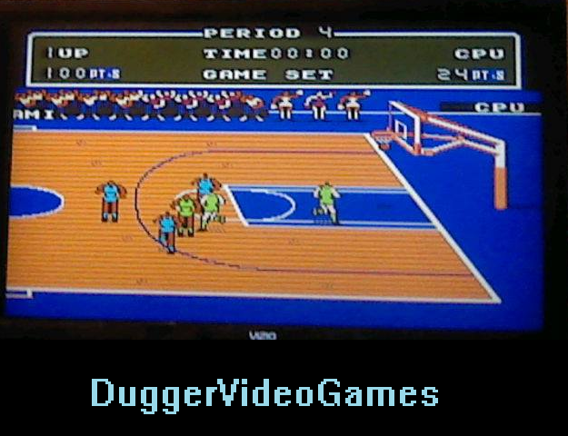 DuggerVideoGames: Double Dribble [Point Difference] (NES/Famicom Emulated) 76 points on 2016-03-30 04:40:22