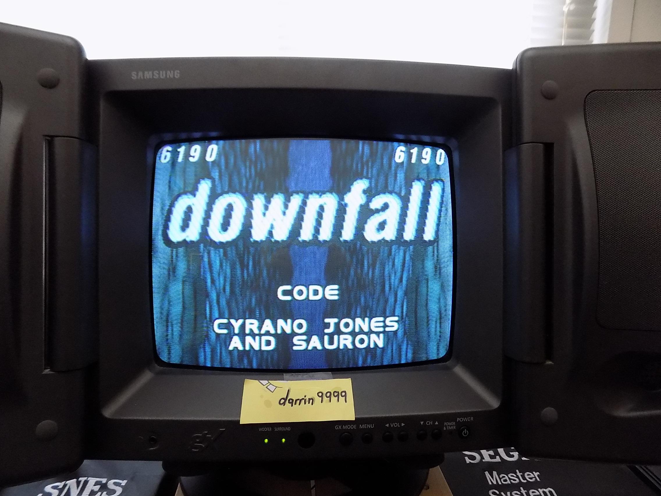 darrin9999: Downfall (Atari Jaguar) 6,190 points on 2019-06-14 16:11:05