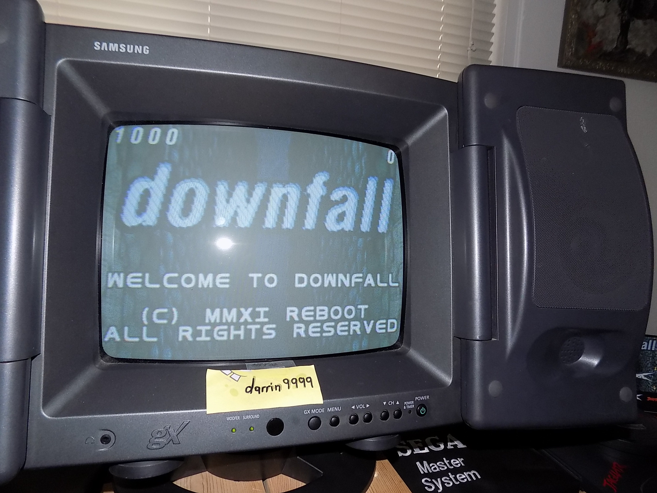 darrin9999: Downfall (Atari Jaguar) 7,742 points on 2019-08-20 15:52:33