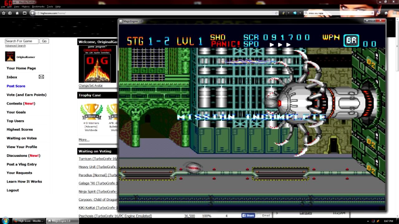 OriginalGamer: Download (TurboGrafx-16/PC Engine Emulated) 91,700 points on 2015-08-21 16:36:31