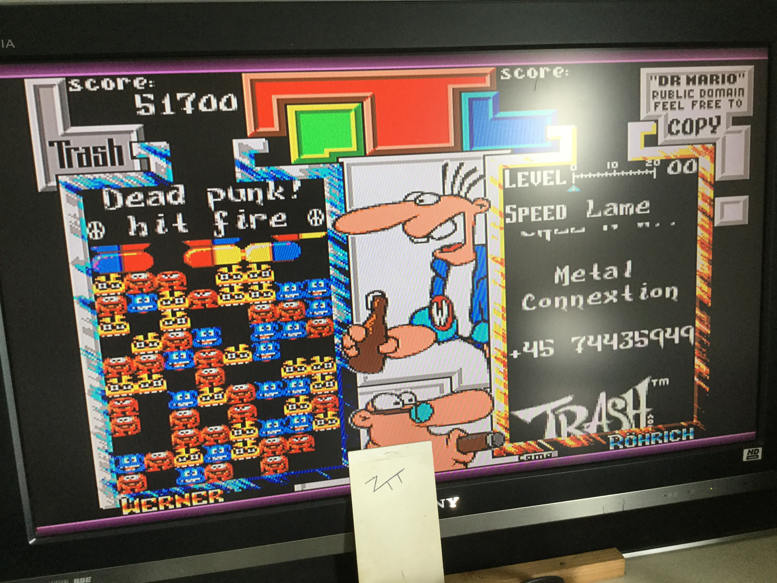 Dr. Mario 51,700 points