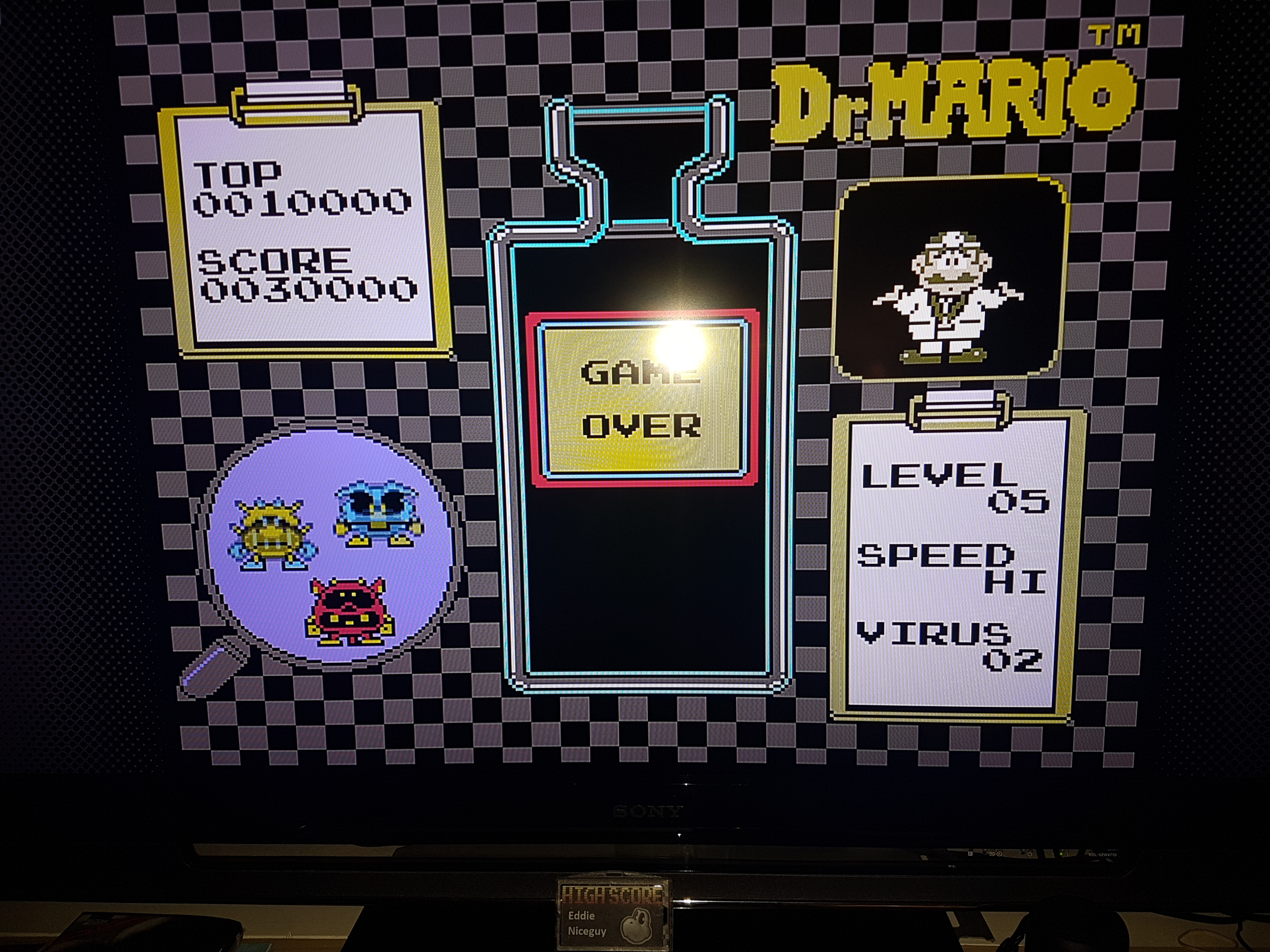 Dr. Mario [High] 30,000 points