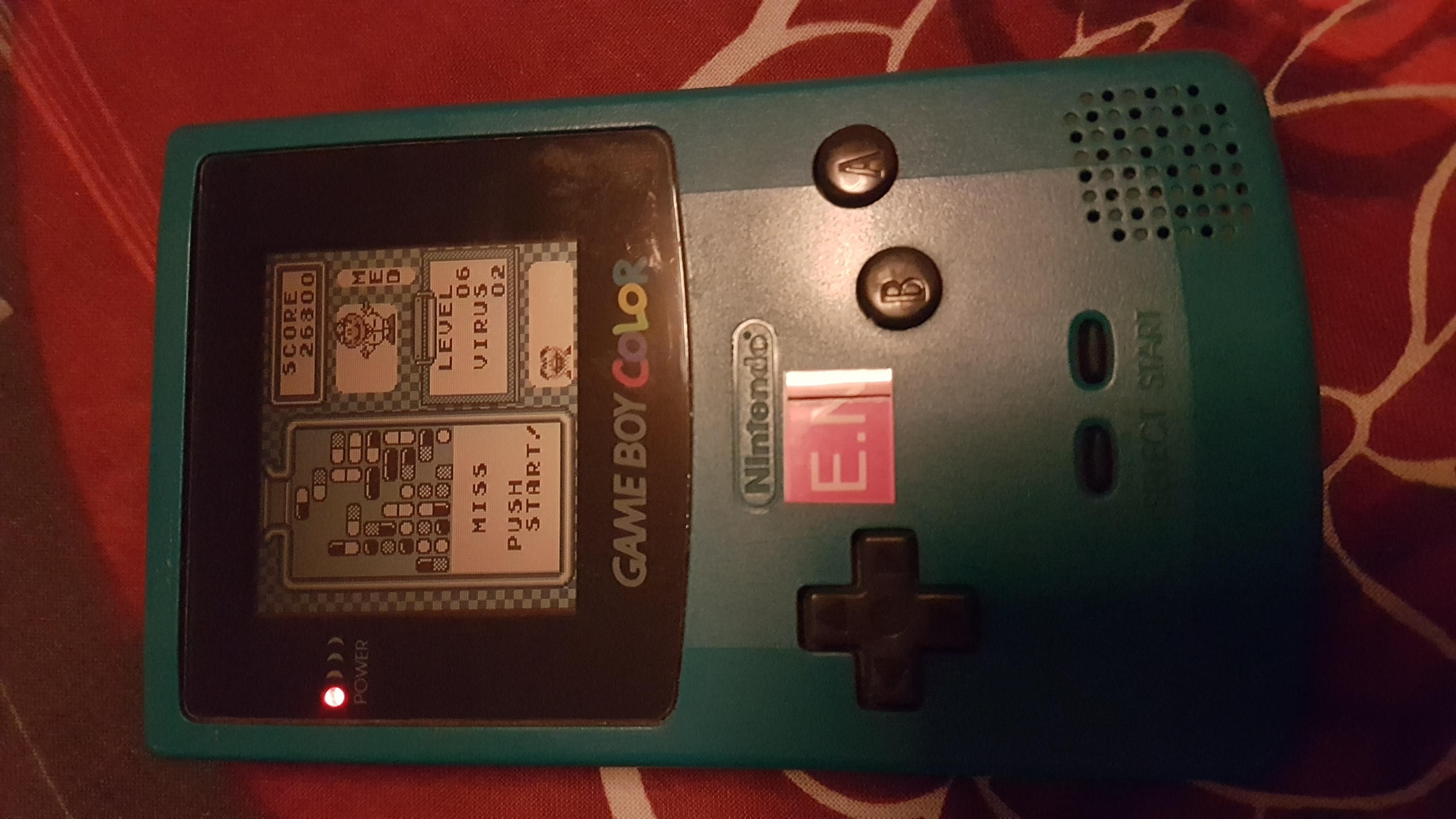 EddieNiceguy: Dr. Mario [Medium] (Game Boy) 26,800 points on 2018-10-17 13:43:34