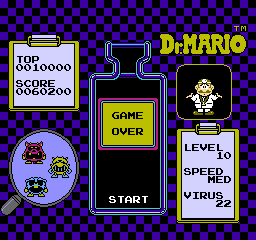 Dr. Mario 60,200 points