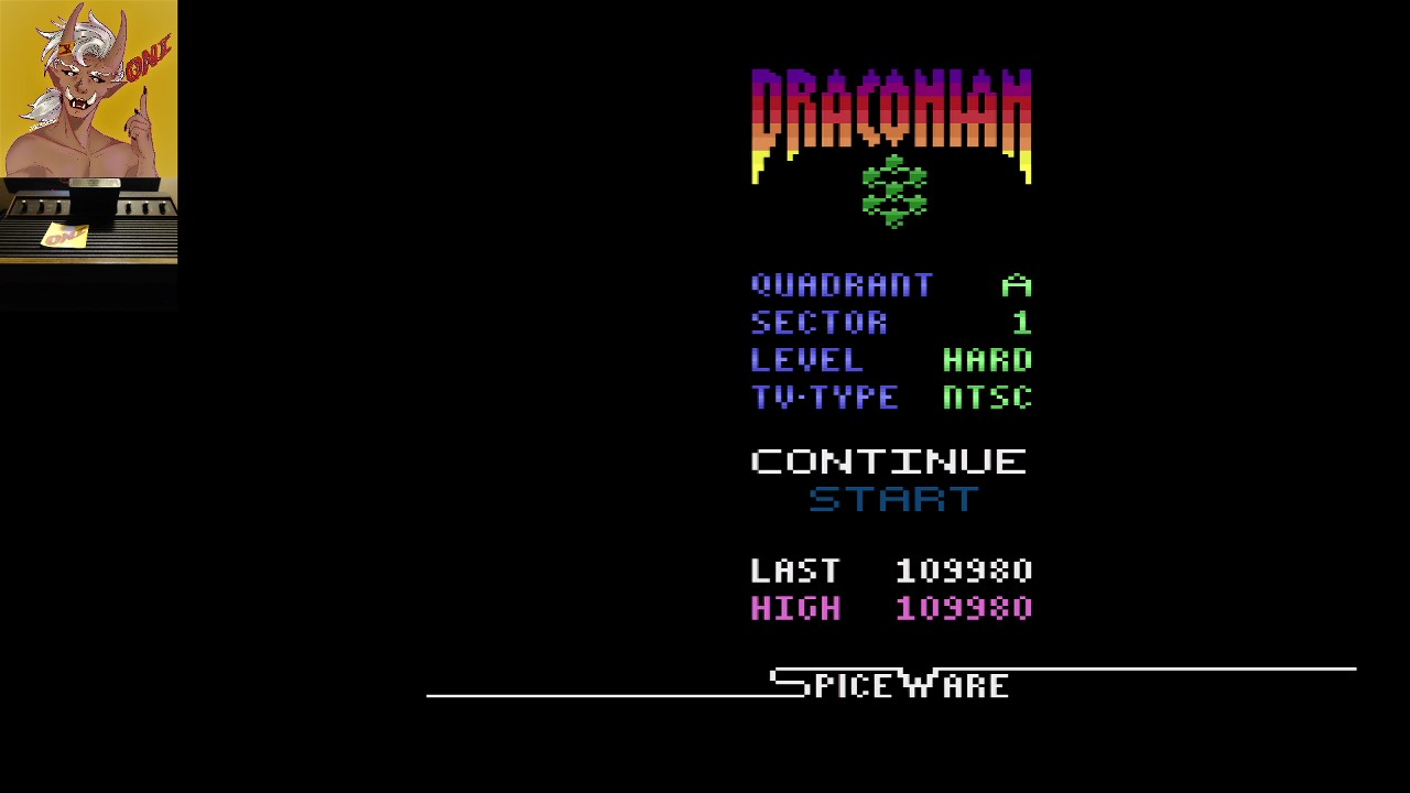Draconian: Quadrant Alpha / Sector 1 [Hard] 109,980 points