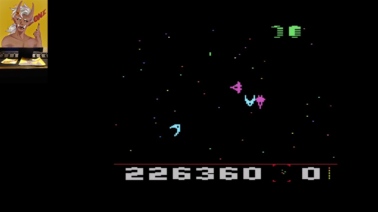 OniDensetsu: Draconian: Quadrant Alpha / Sector 1 [Normal] (Atari 2600) 226,360 points on 2020-07-24 04:11:35