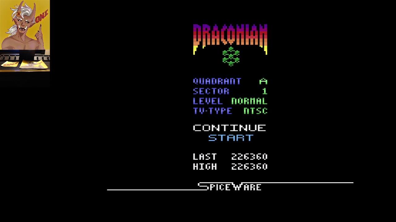 Draconian: Quadrant Alpha / Sector 1 [Normal] 226,360 points