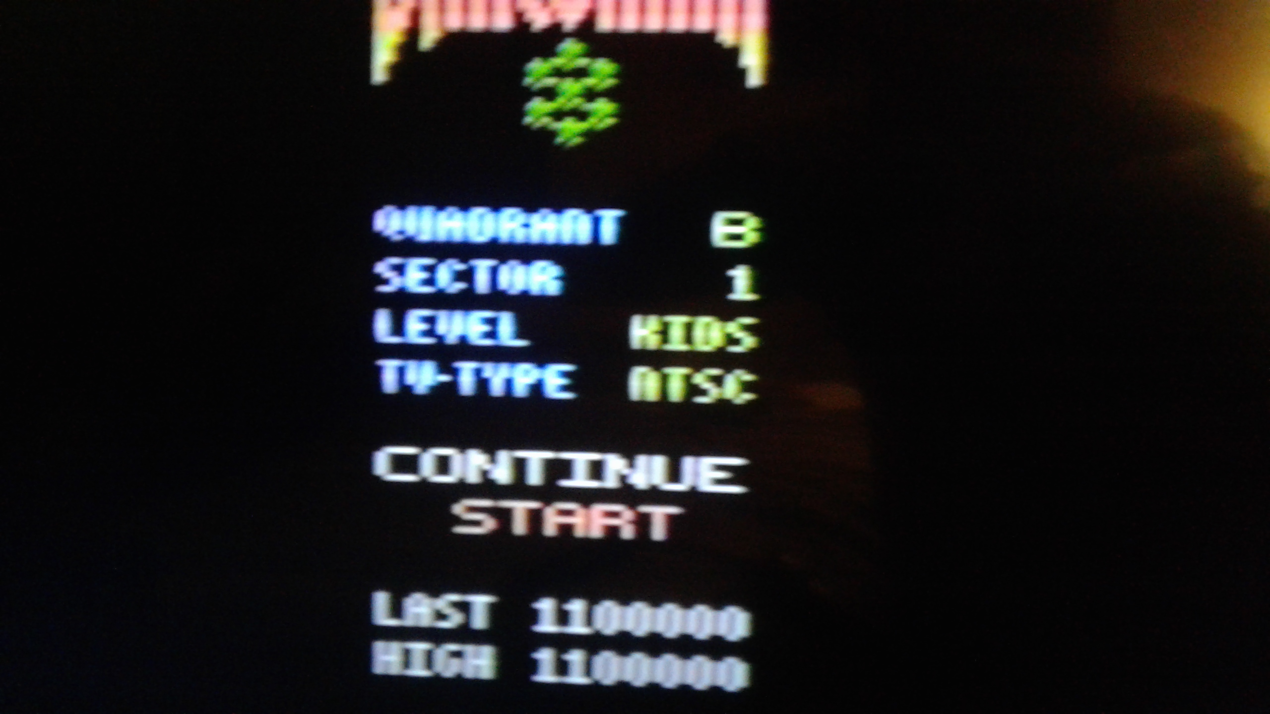 Mark: Draconian: Quadrant Beta / Sector 1 [Kids] (Atari 2600) 1,100,000 points on 2019-05-20 00:36:37