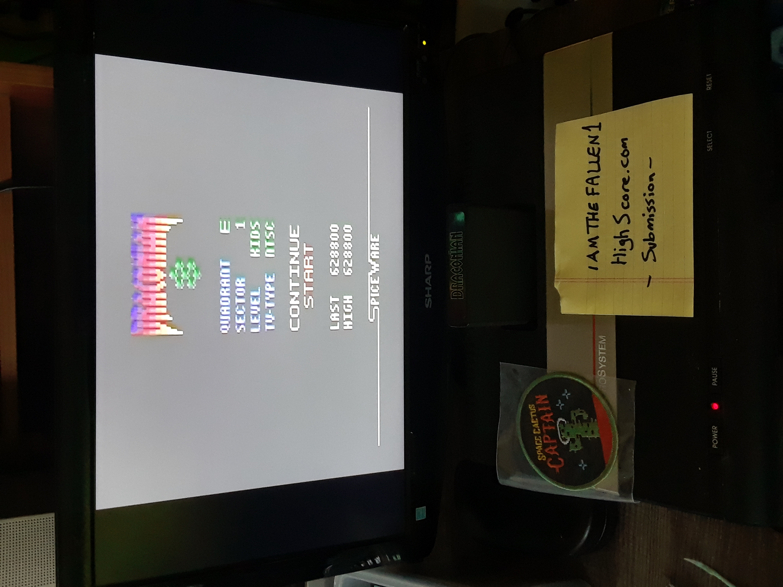 iamthefallen1: Draconian: Quadrant Epsilon / Sector 1 [Kids] (Atari 2600) 628,800 points on 2019-07-24 18:30:41
