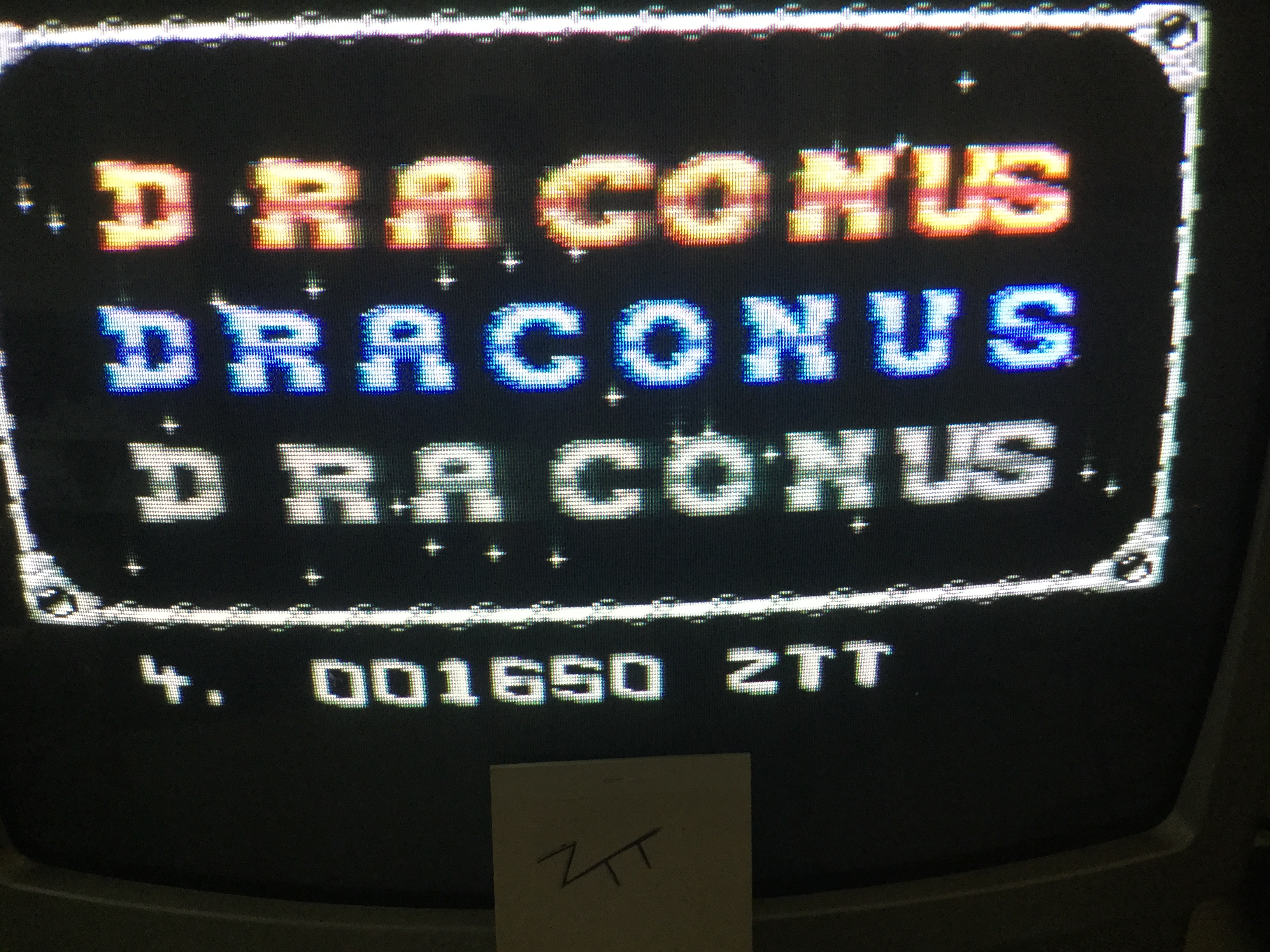 Frankie: Draconus (Commodore 64) 1,650 points on 2017-05-01 15:01:49
