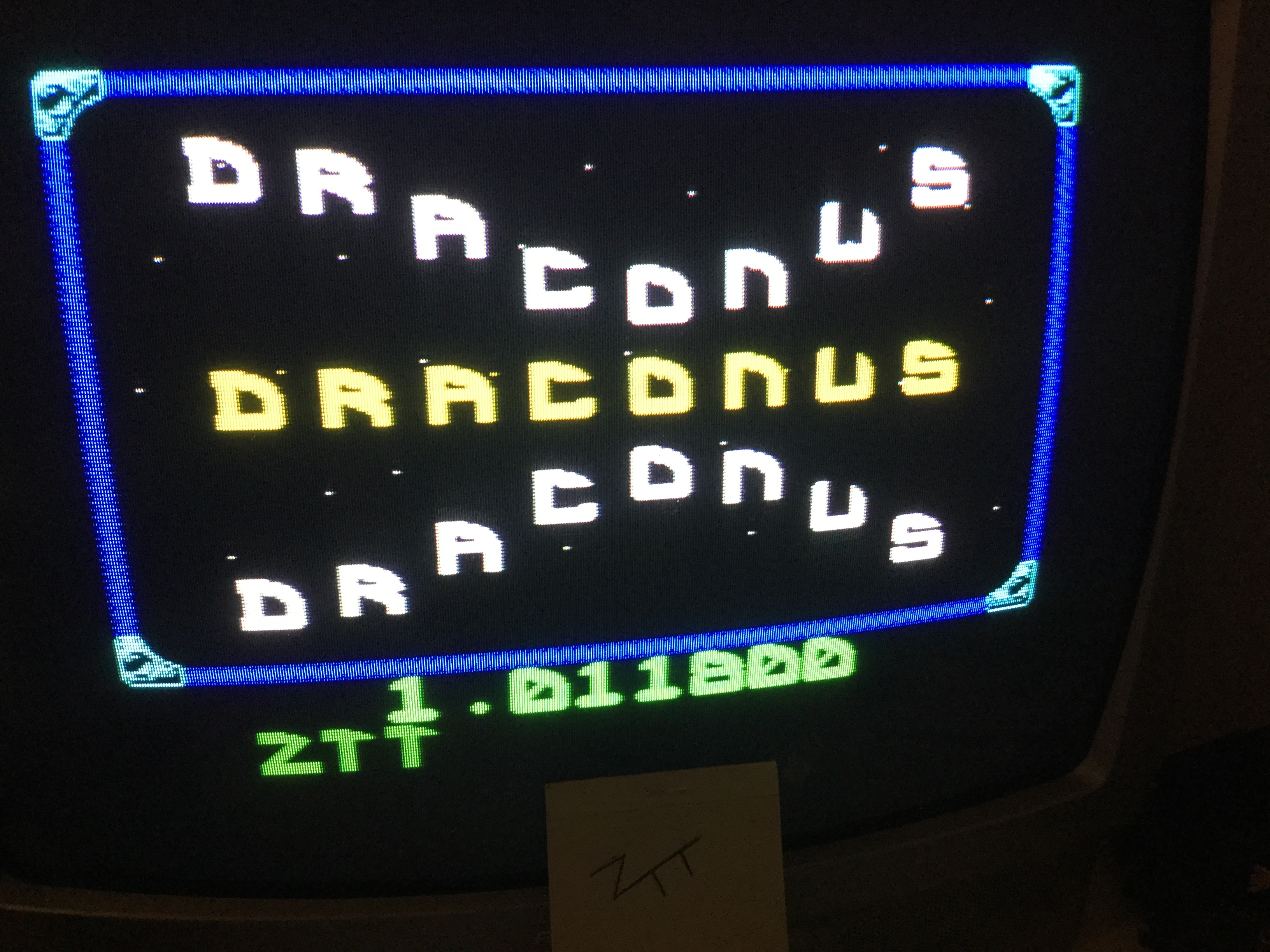 Draconus 11,800 points