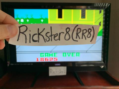 Rickster8: Dracula [Hard] (Intellivision Emulated) 18,625 points on 2020-11-22 18:00:05