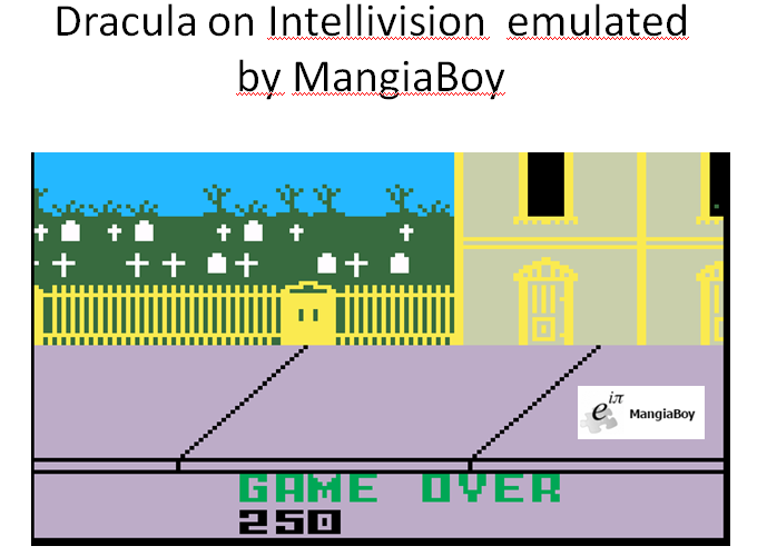 MangiaBoy: Dracula (Intellivision Emulated) 250 points on 2016-01-16 23:45:59