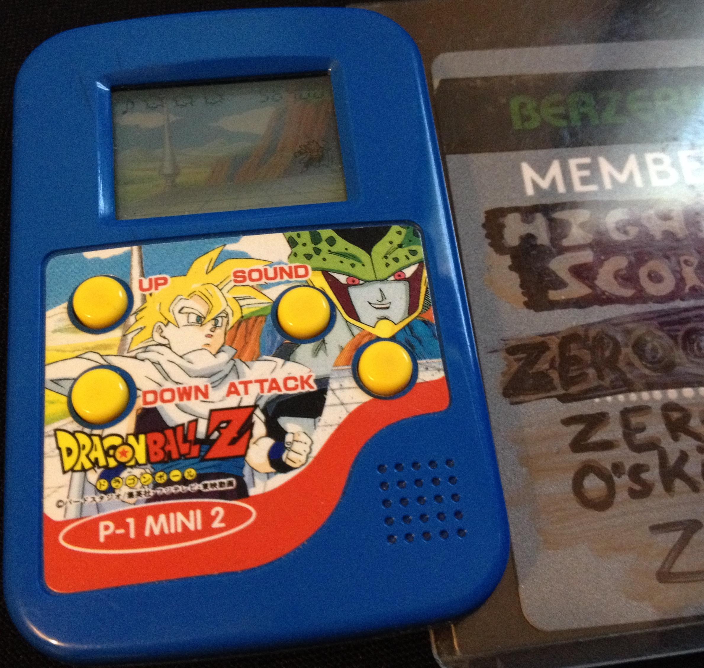 zerooskul: Dragon Ball Z: P-1 Mini 2 (Dedicated Handheld) 56,400 points on 2019-07-14 17:52:25