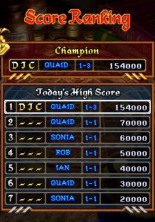 derek: Dragon Blaze (Arcade Emulated / M.A.M.E.) 154,000 points on 2017-04-09 16:15:08