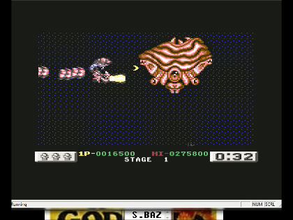 S.BAZ: Dragon Breed (Commodore 64 Emulated) 16,500 points on 2016-06-10 01:41:50