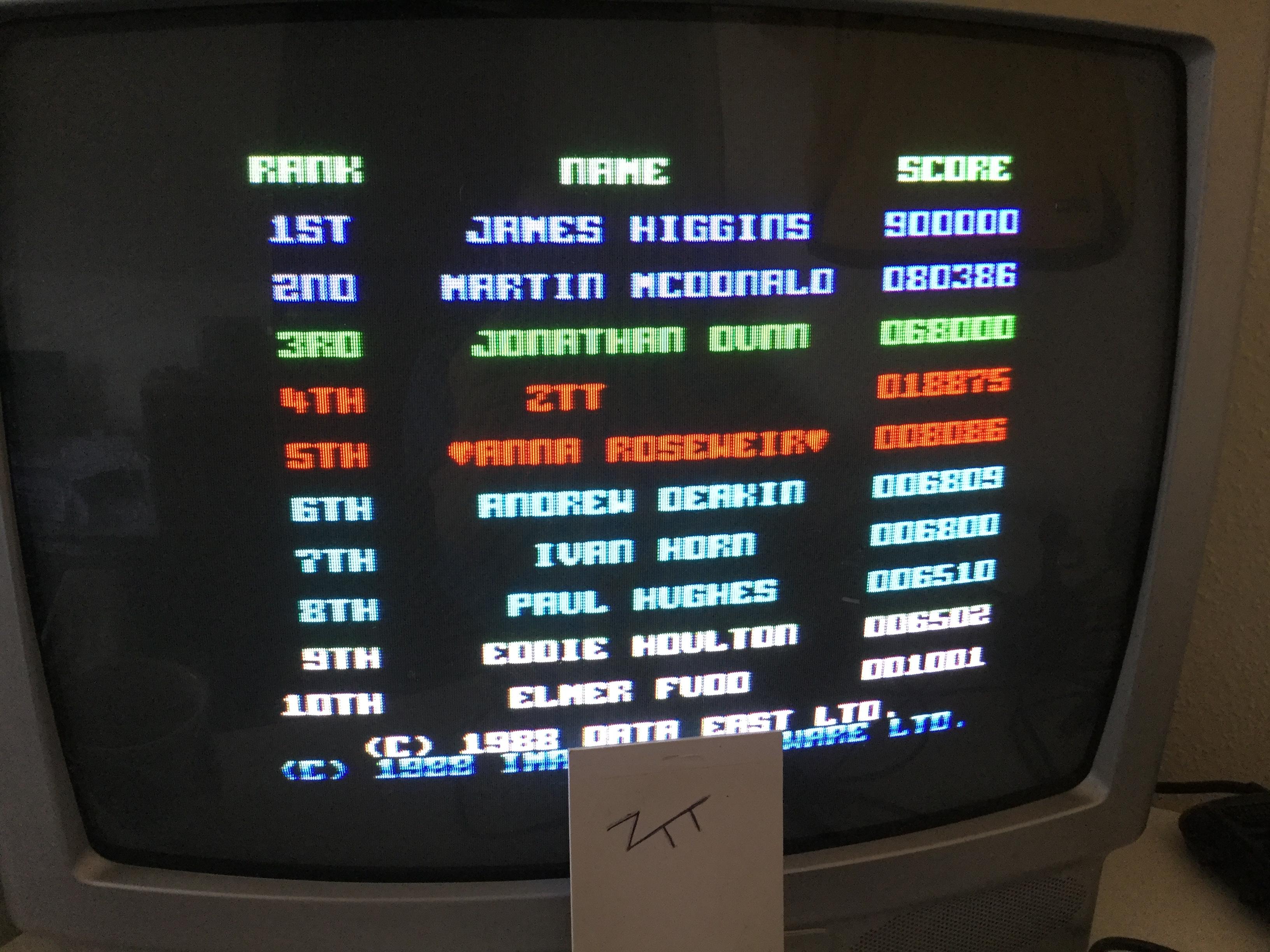 Frankie: Dragon Ninja (Amstrad CPC) 18,875 points on 2017-01-28 05:38:35
