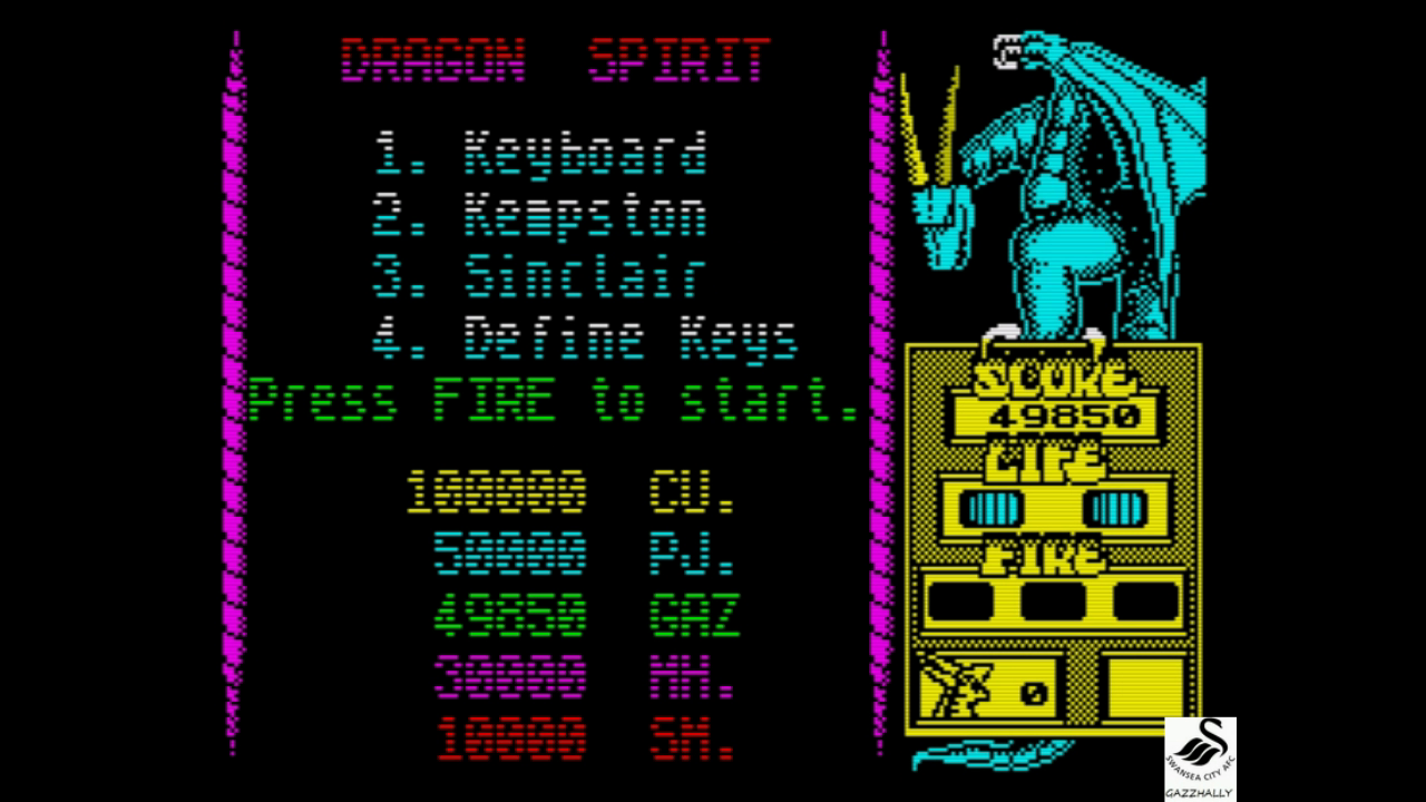gazzhally: Dragon Spirit (ZX Spectrum Emulated) 49,850 points on 2017-08-07 12:56:25