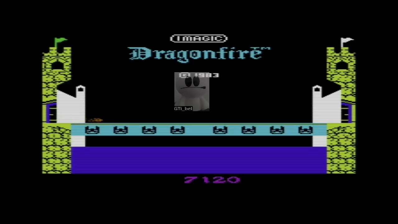 GTibel: Dragonfire (Commodore VIC-20 Emulated) 7,120 points on 2017-05-15 12:39:08