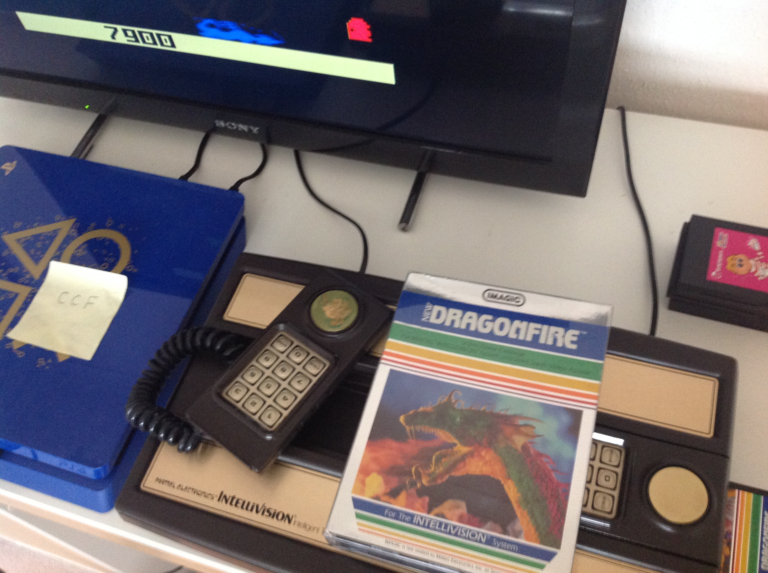 CoCoForest: Dragonfire (Intellivision) 7,900 points on 2018-08-09 04:14:12