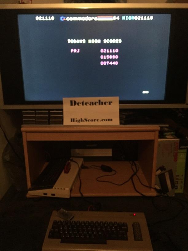 Deteacher: Dragonsden (Commodore 64) 21,110 points on 2015-12-06 20:55:14