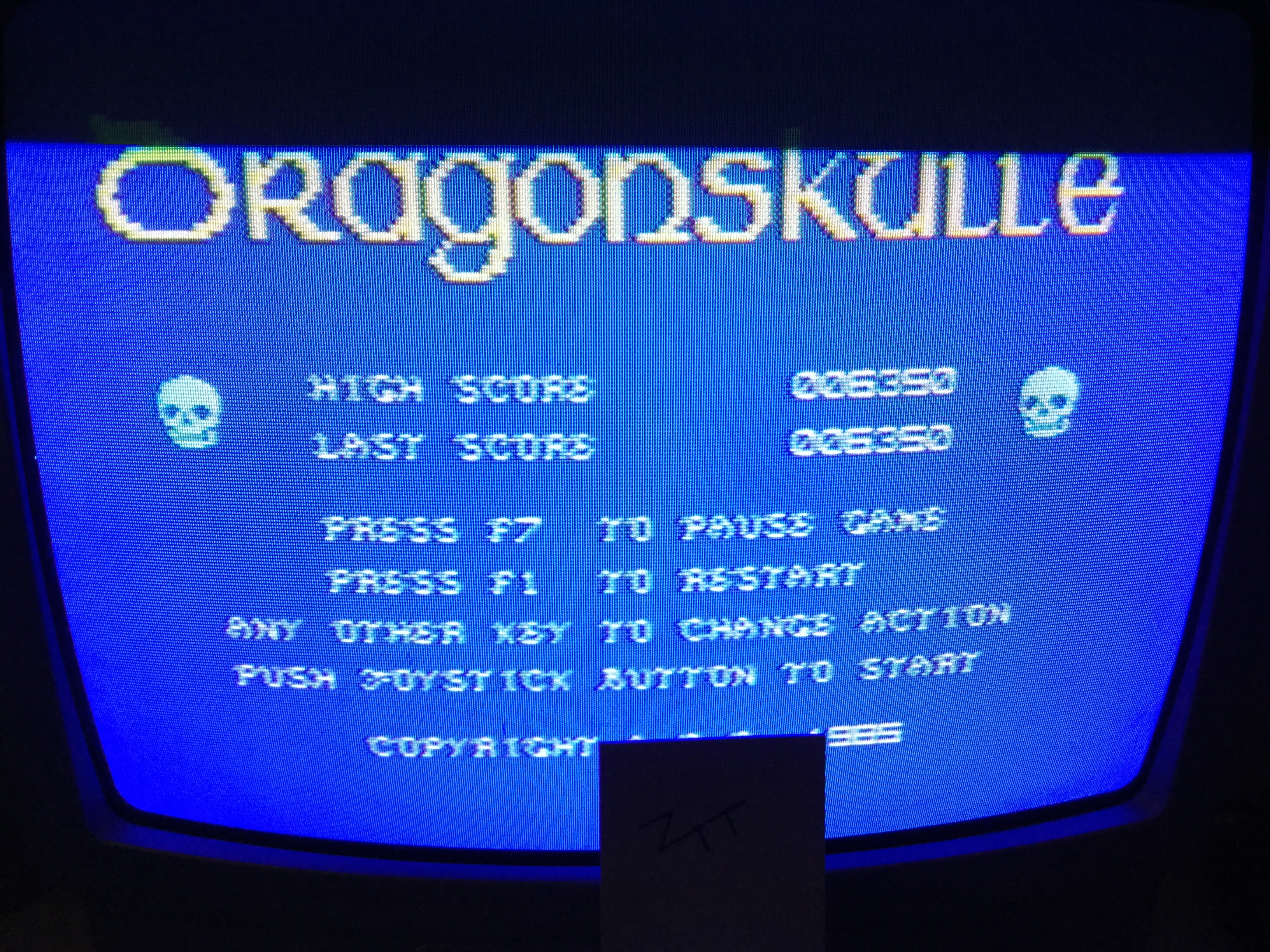 Frankie: Dragonskulle [Bonus 1000000 Completed] (Commodore 64) 6,350 points on 2017-05-05 11:57:09