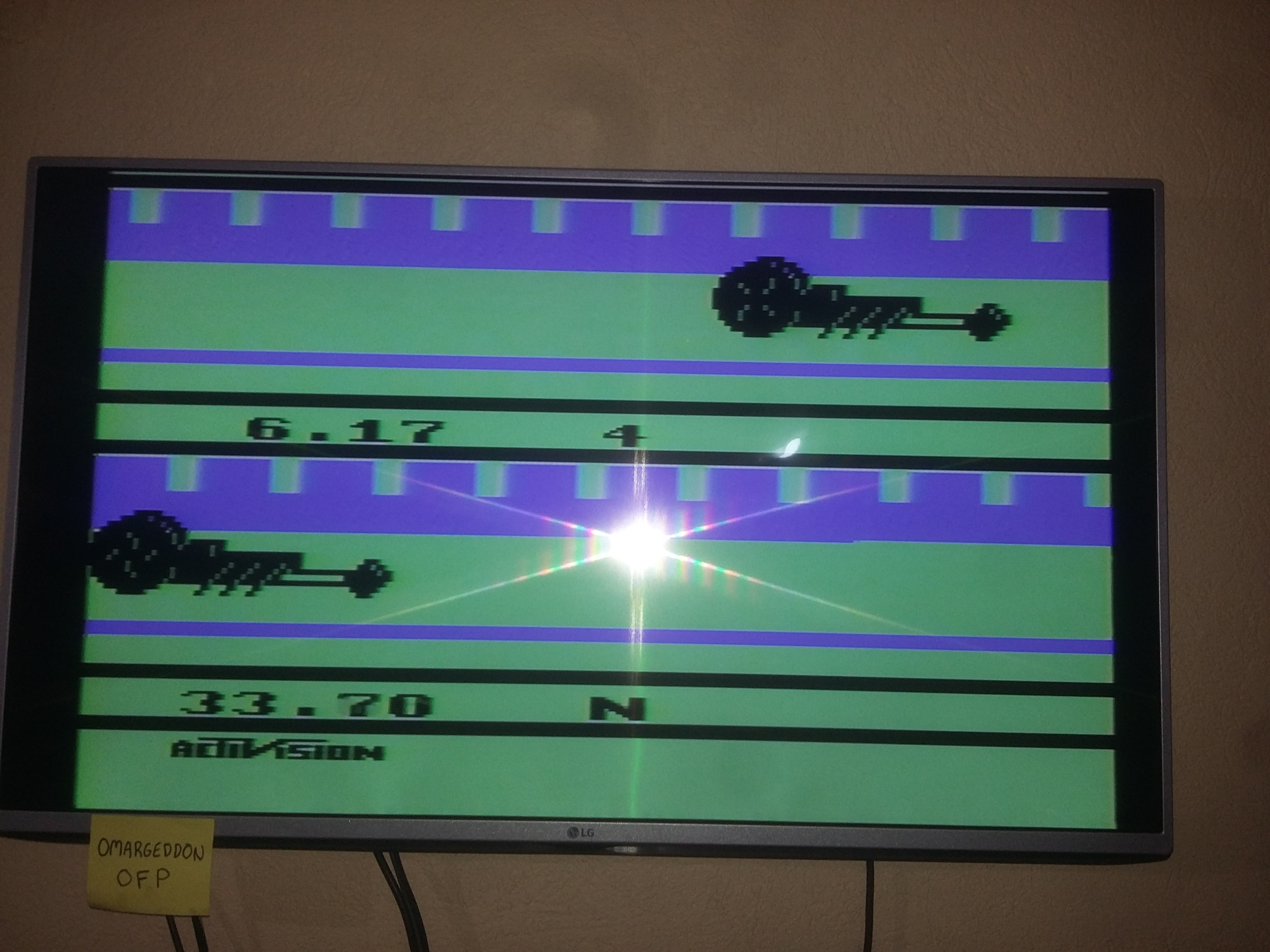 omargeddon: Dragster (Atari 2600 Expert/A) 0:00:06.17 points on 2016-12-24 16:03:32