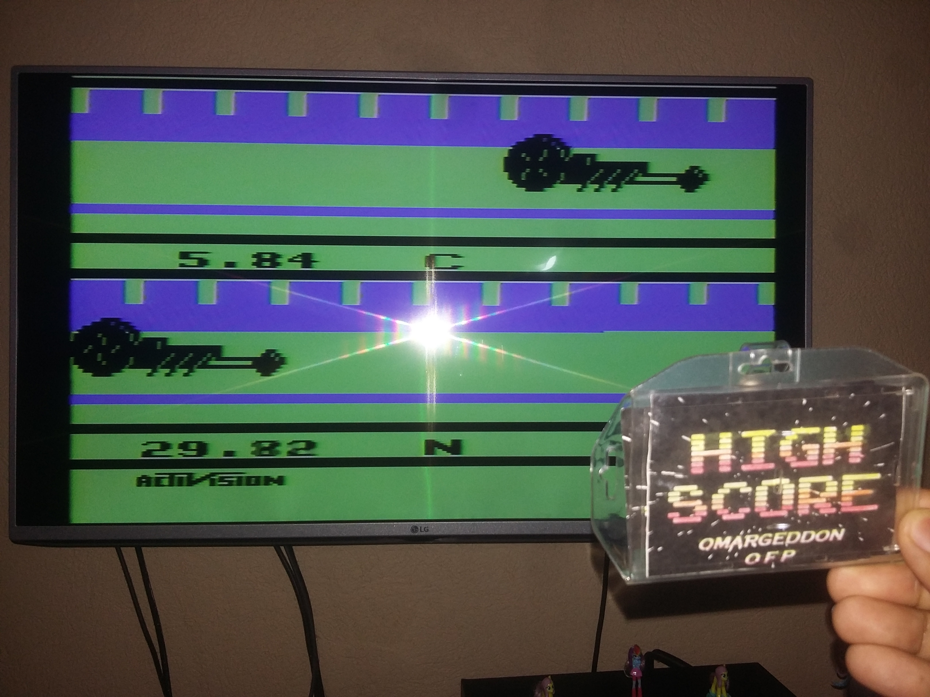 omargeddon: Dragster (Atari 2600 Novice/B) 0:00:05.84 points on 2018-03-02 19:53:19