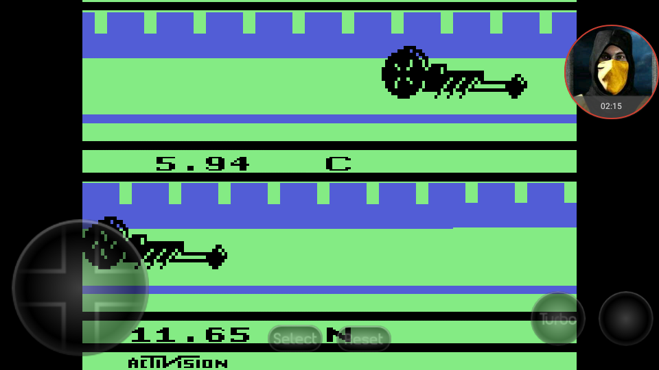 omargeddon: Dragster (Atari 2600 Emulated Expert/A Mode) 0:00:05.94 points on 2018-03-11 17:19:38