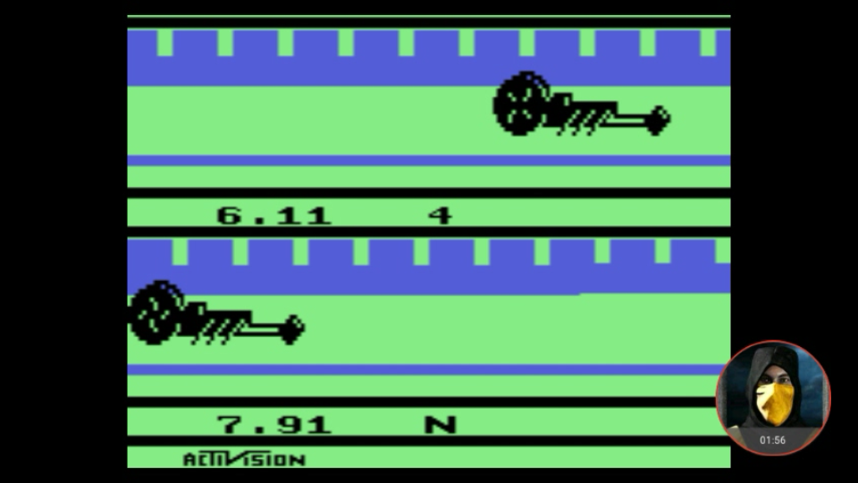 omargeddon: Dragster (Atari 2600 Emulated Novice/B Mode) 0:00:06.11 points on 2018-01-26 20:34:25