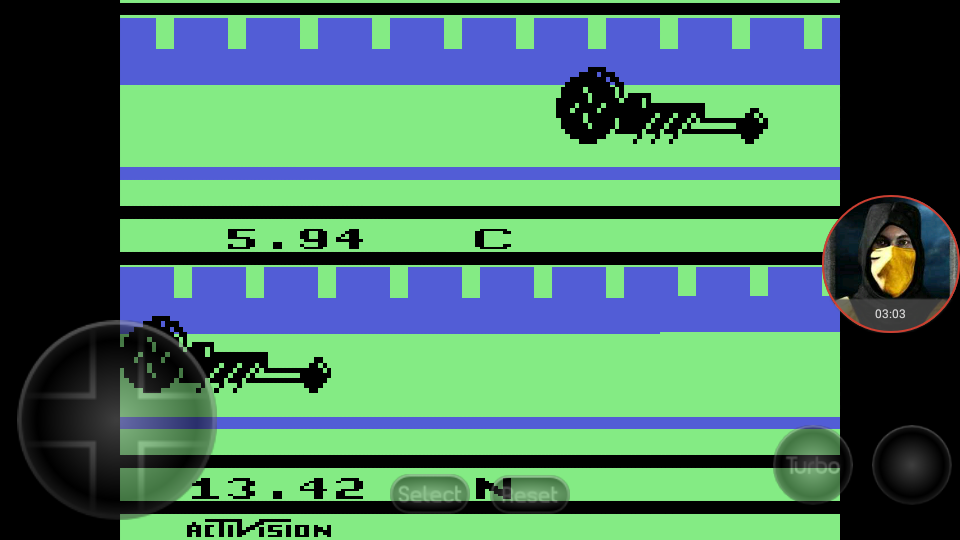 omargeddon: Dragster (Atari 2600 Emulated Novice/B Mode) 0:00:05.94 points on 2018-03-06 01:24:27