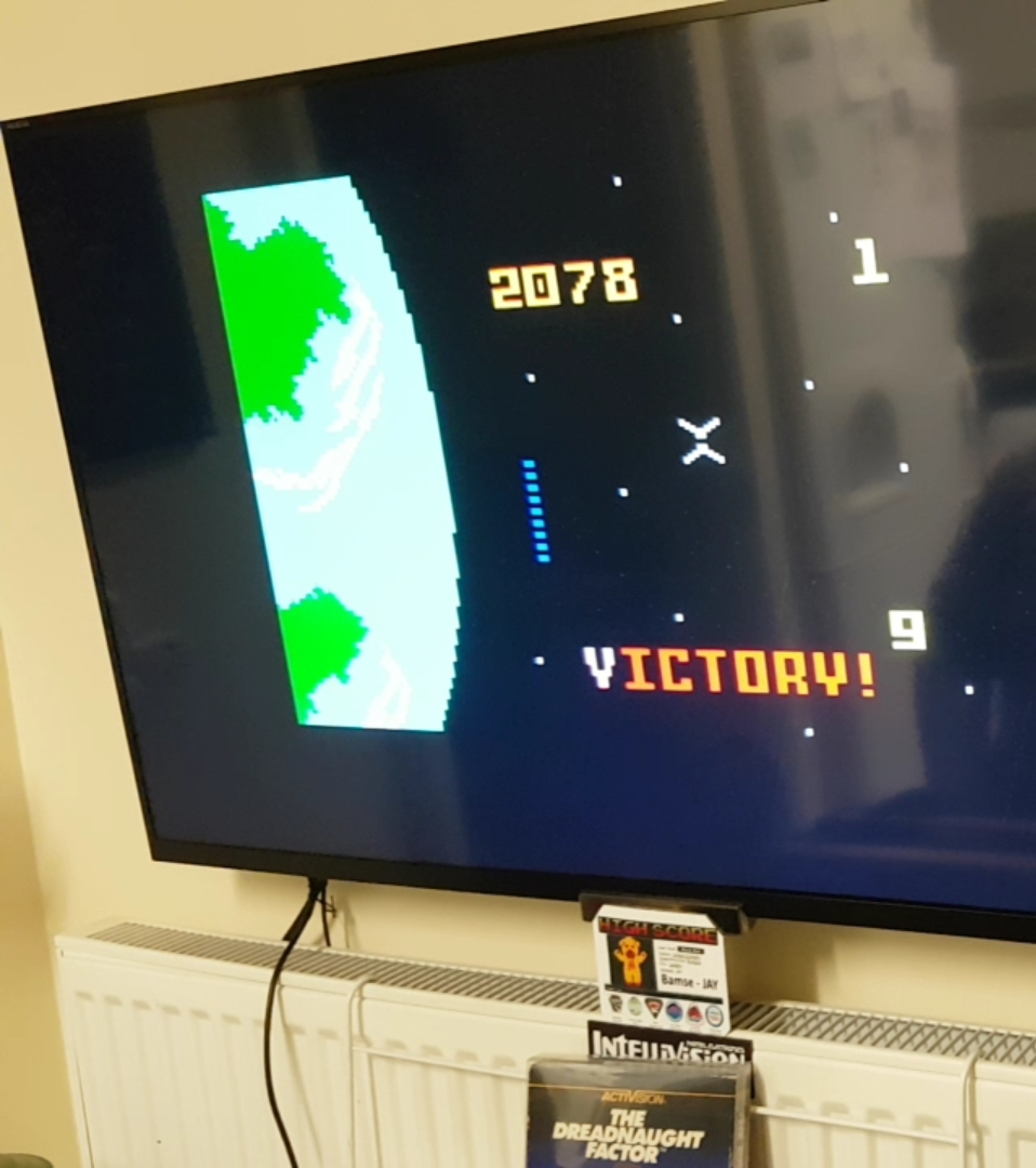 Bamse: Dreadnaught Factor (Intellivision) 2,078 points on 2019-09-30 14:50:17