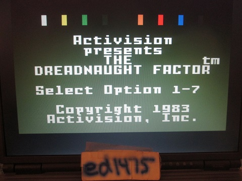 ed1475: Dreadnaught Factor: Level 4 (Intellivision Emulated) 1,237 points on 2018-12-28 21:14:55