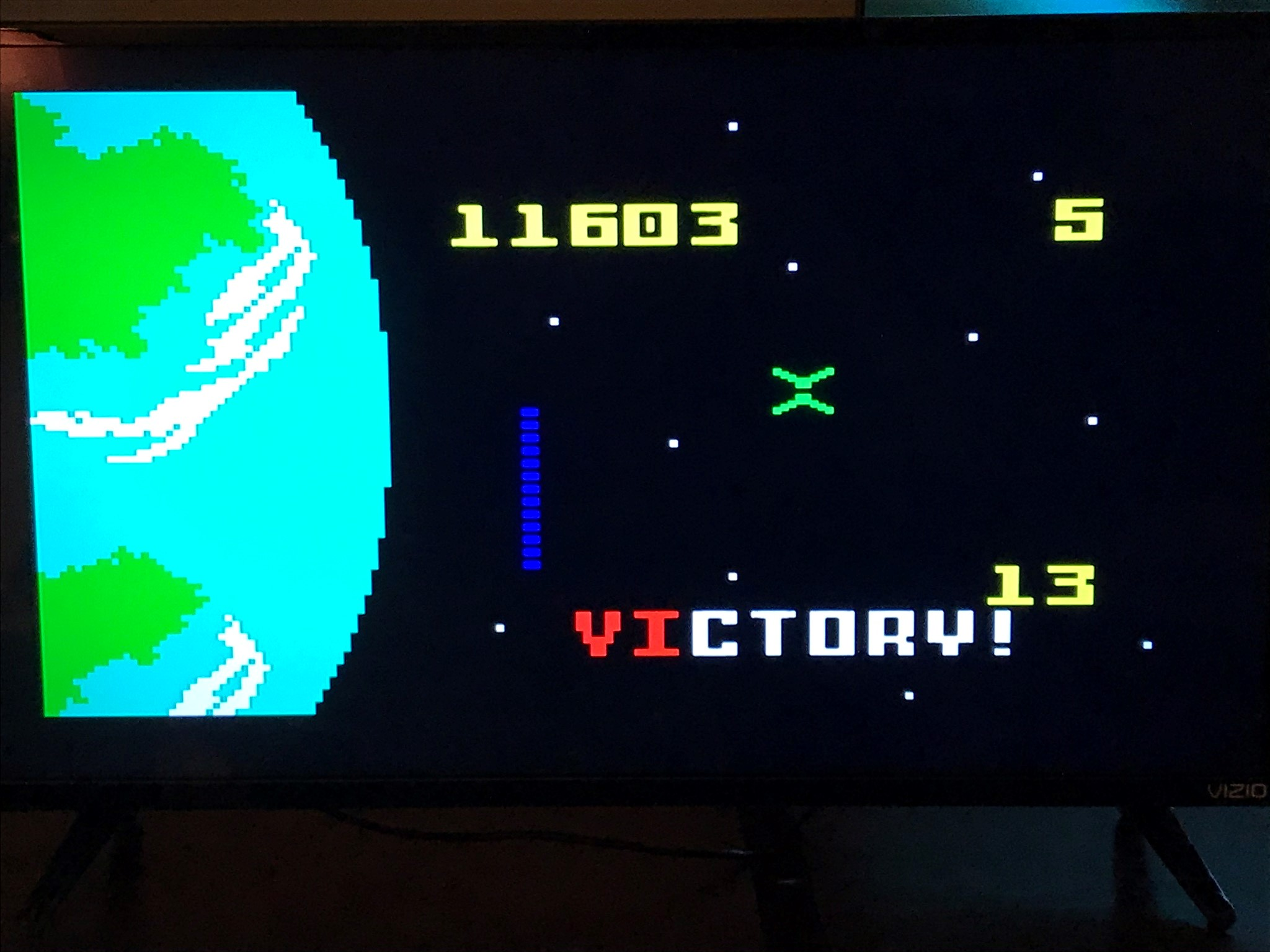 IntyFanMatt: Dreadnaught Factor: Level 4 (Intellivision) 11,603 points on 2020-08-22 14:52:18