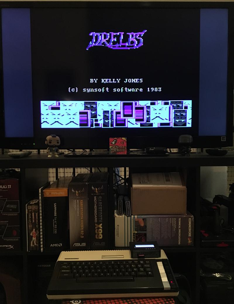 ILLSeaBass: Drelbs (Atari 400/800/XL/XE) 39,340 points on 2017-05-07 21:53:49