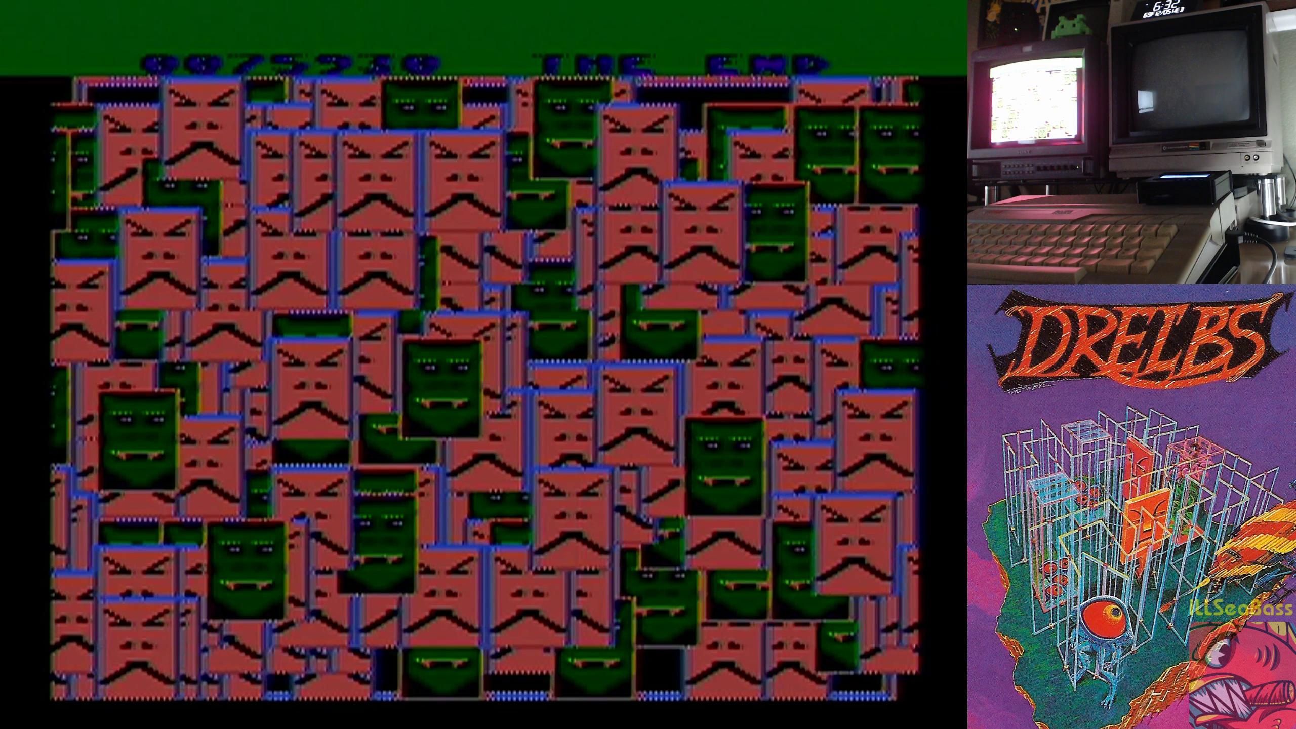 ILLSeaBass: Drelbs (Atari 400/800/XL/XE) 75,930 points on 2018-12-05 20:23:59