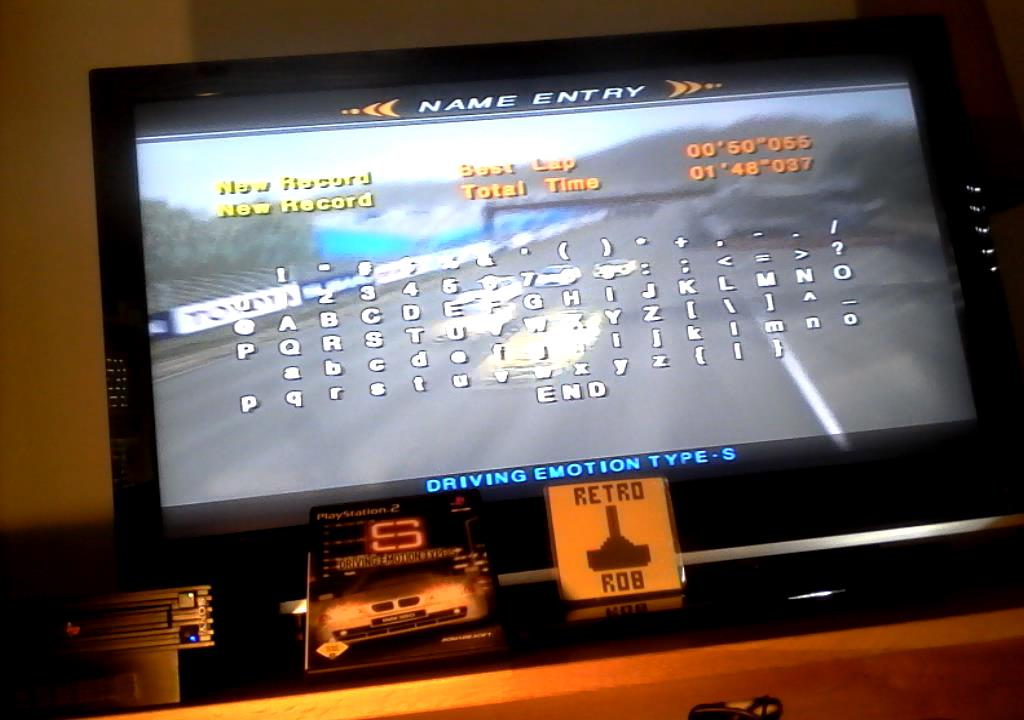 RetroRob: Driving Emotion Type-S [Arcade / Provence / Division 3] [Best Lap] (Playstation 2) 0:00:50.055 points on 2019-08-24 11:22:09
