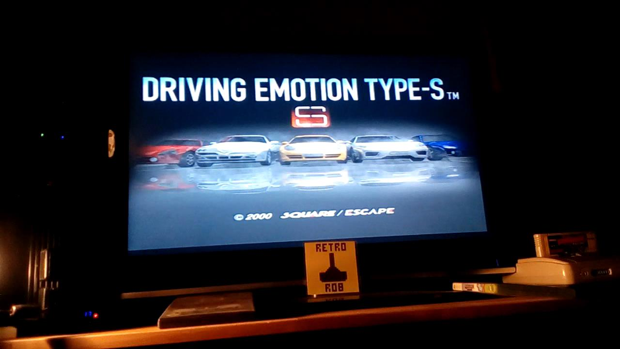 RetroRob: Driving Emotion Type-S [Arcade / Suzuka Circuit / Division 3] [Best Lap] (Playstation 2) 0:00:56.883 points on 2019-09-12 23:50:44