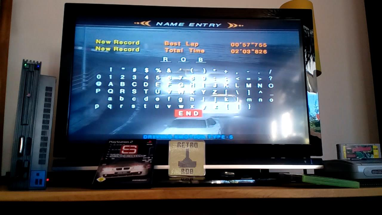RetroRob: Driving Emotion Type-S [Arcade / Urban Highway / Division 3] [Best Lap] (Playstation 2) 0:00:57.755 points on 2019-09-14 03:53:25