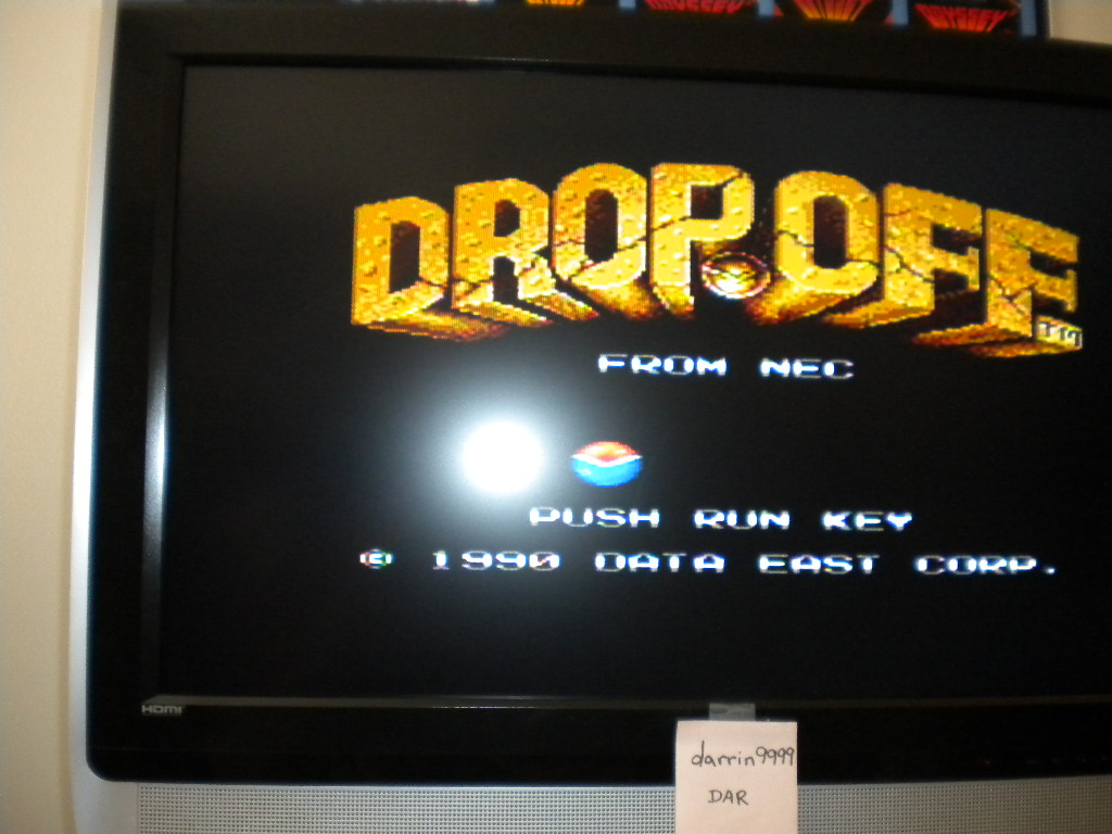 darrin9999: Drop Off (TurboGrafx-16/PC Engine) 13,260 points on 2017-04-09 17:37:23