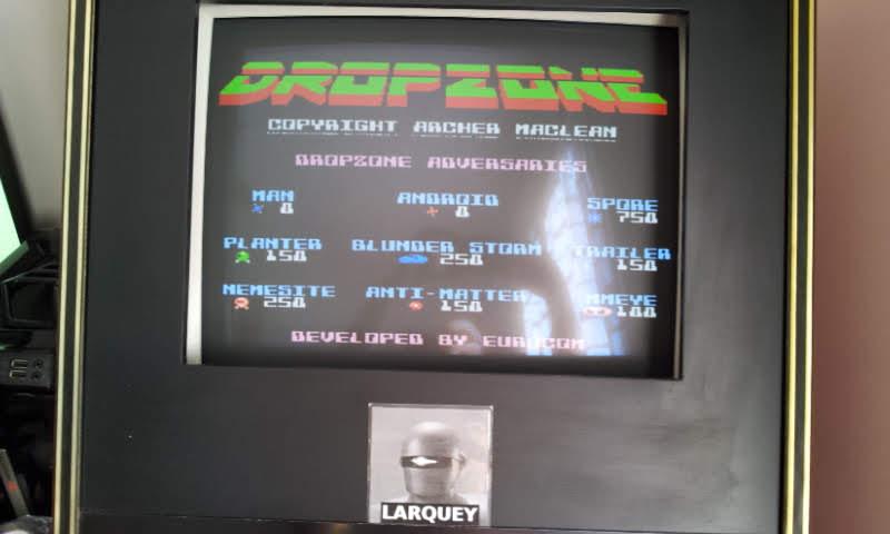 Larquey: Dropzone (NES/Famicom Emulated) 16,210 points on 2018-09-02 10:36:09