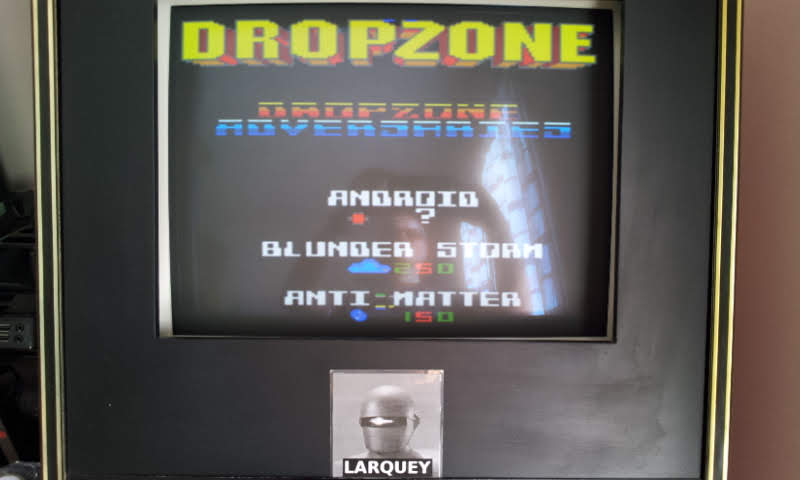 Larquey: Dropzone (Sega Game Gear Emulated) 10,540 points on 2018-09-02 10:38:25