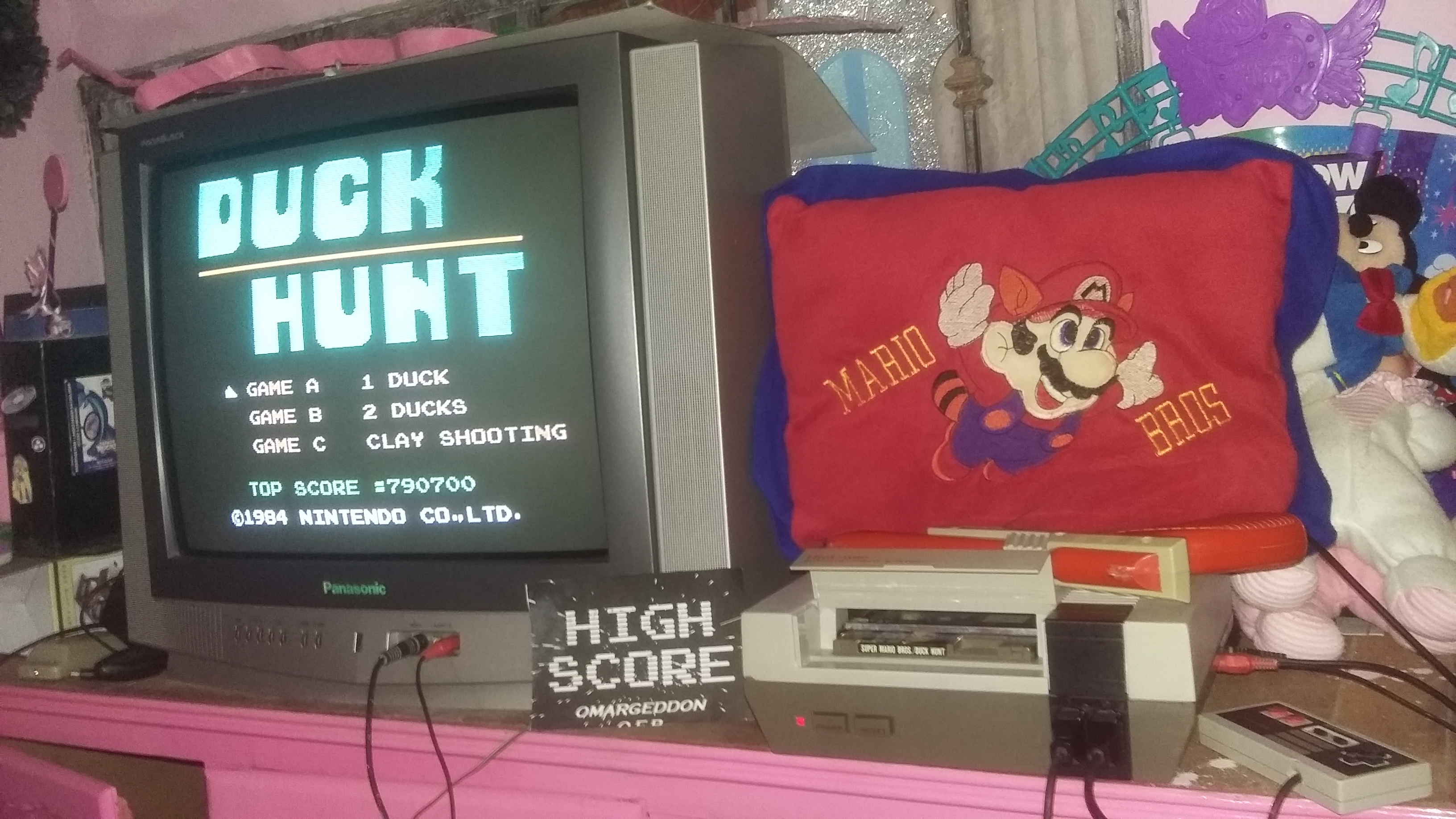 Duck Hunt: One Duck [Any Distance] 790,700 points