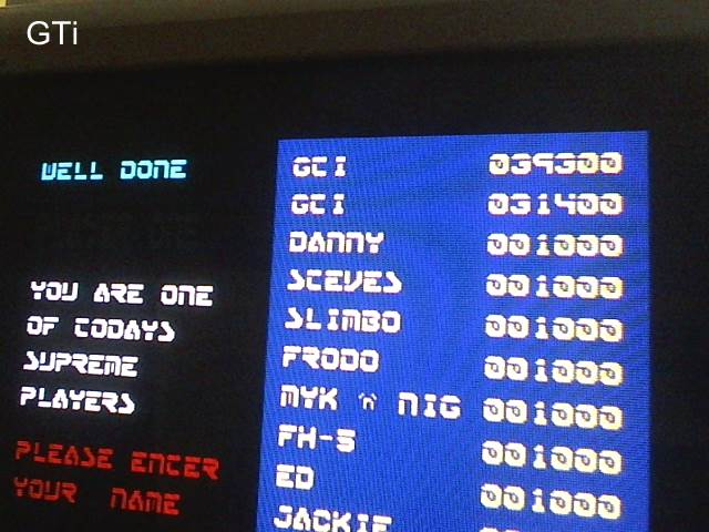 GTibel: Duet (ZX Spectrum) 39,300 points on 2017-08-07 14:00:32