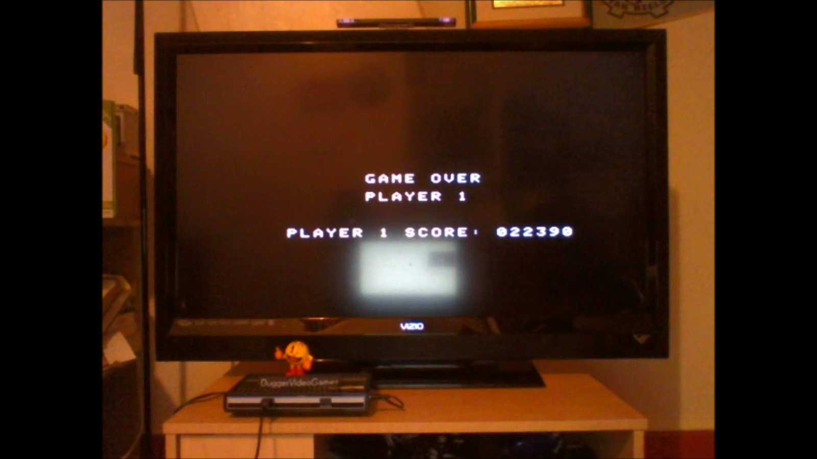 DuggerVideoGames: Dukes of Hazzard: Skill 1 (Colecovision Emulated) 22,390 points on 2016-08-08 21:09:21