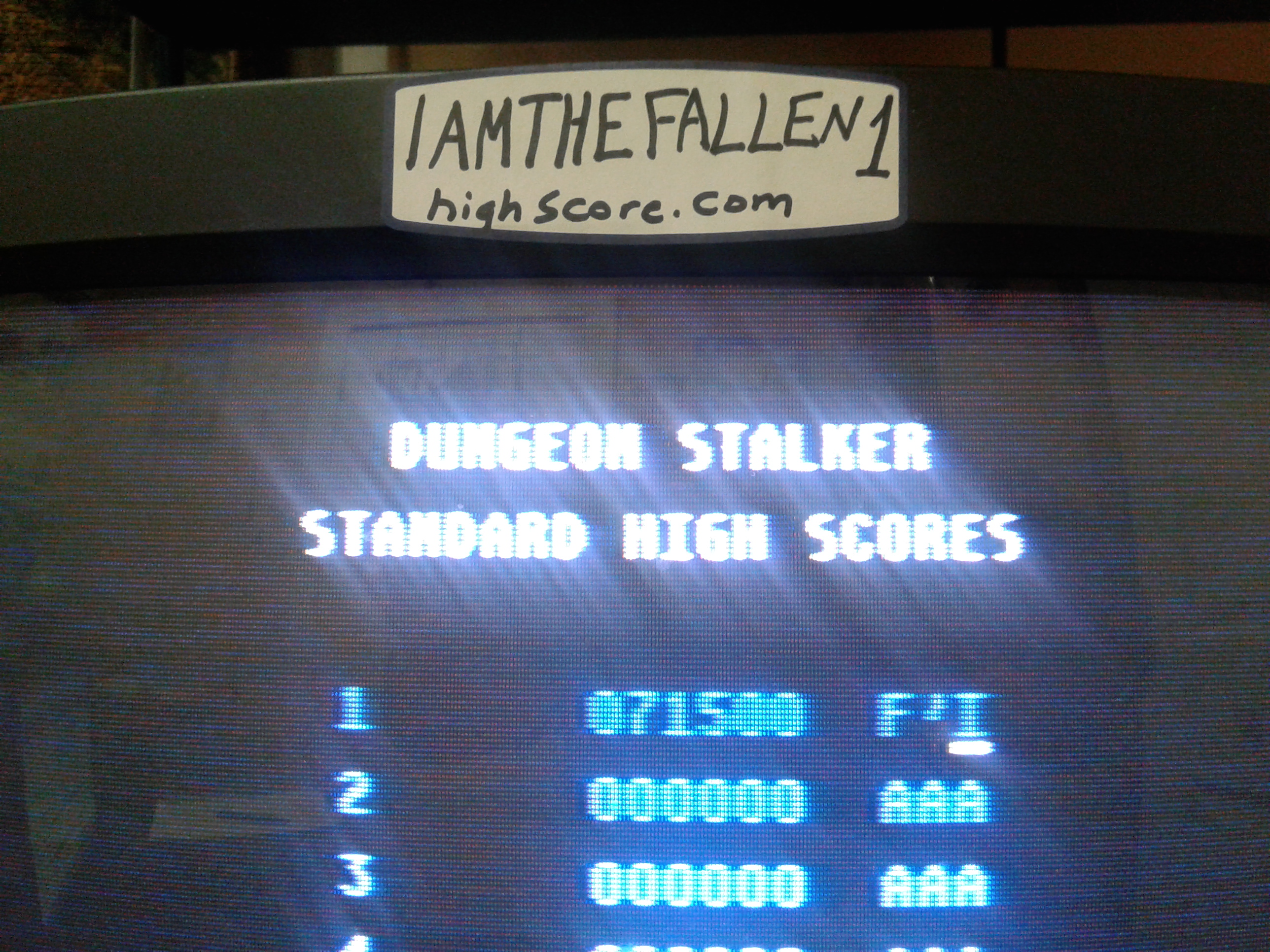 iamthefallen1: Dungeon Stalker [Standard] (Atari 7800) 71,500 points on 2017-11-28 19:15:22