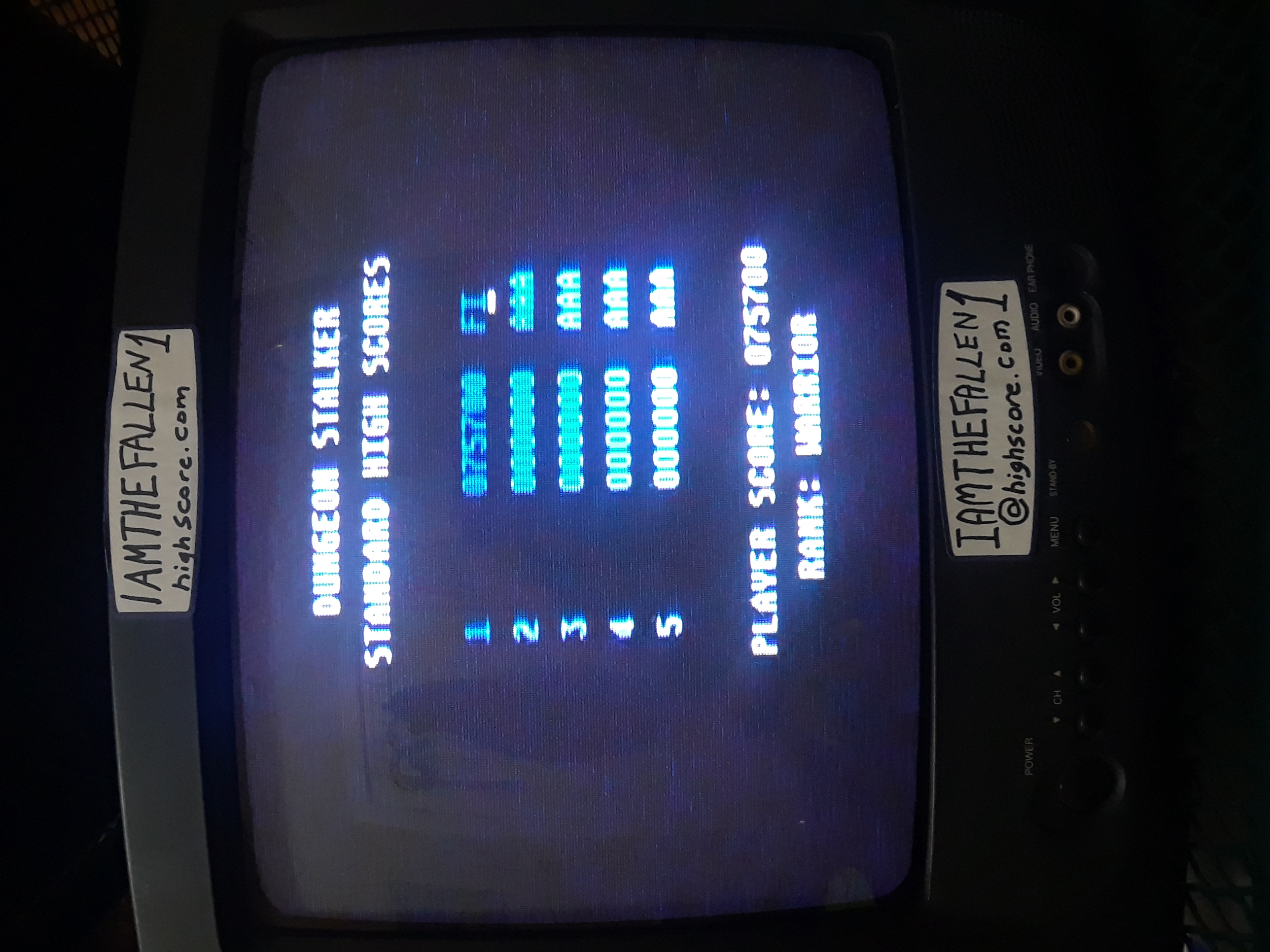iamthefallen1: Dungeon Stalker [Standard] (Atari 7800) 75,700 points on 2019-02-23 19:47:57