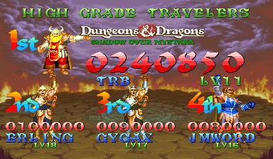 Dungeons & Dragons: Shadows over Mystara [ddsom] 240,850 points
