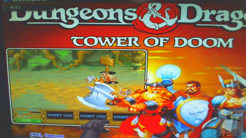 GTibel: Dungeons & Dragons: Tower of Doom [ddtod] (Arcade Emulated / M.A.M.E.) 26,786 points on 2018-10-30 14:54:07