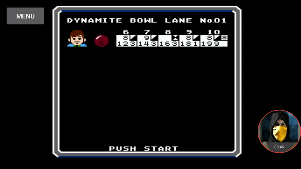 omargeddon: Dynamite Bowl (NES/Famicom Emulated) 199 points on 2018-01-21 00:58:46